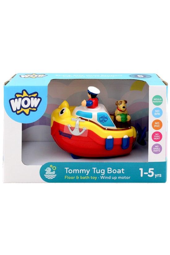 Wow Tommy Tug Boat Bath Toy
