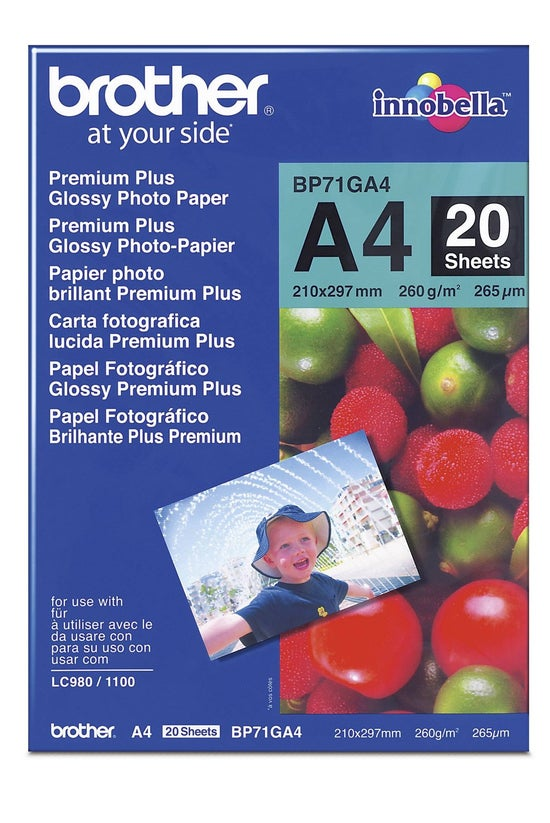 Brother Photo Paper A4 260gsm ...