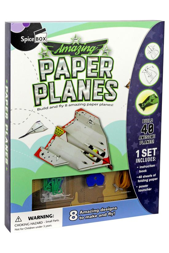 Spice Box Paper Planes