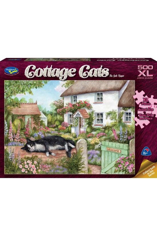 Cottage Cats 500xl Piece Jigsa...