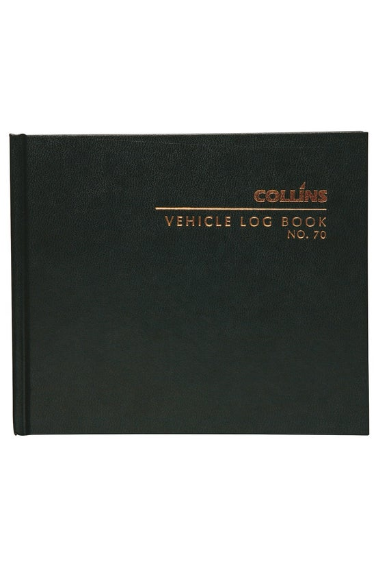 Collins Vehicle Log Book No.70...