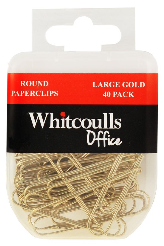 Whitcoulls Round Paperclips La...