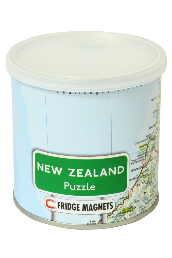 Magnetic Jigsaw Puzzle Map Of ...