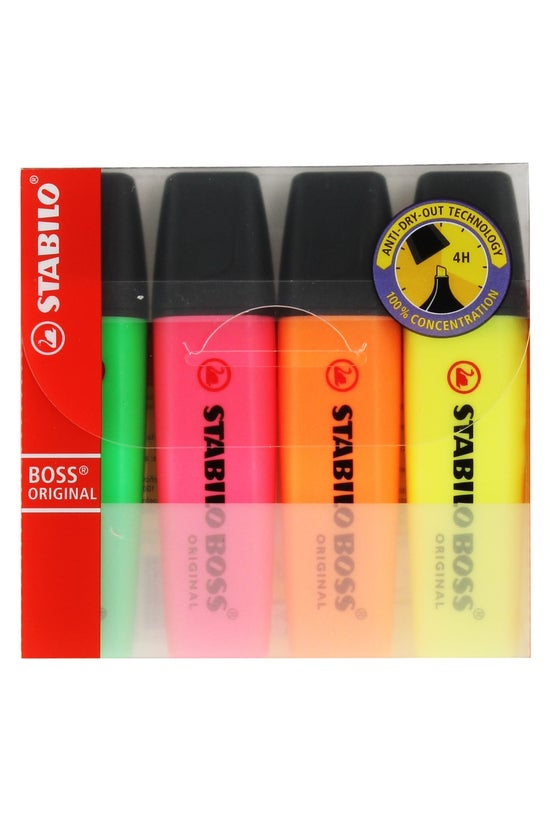 Stablilo Boss Highlighter Pen ...