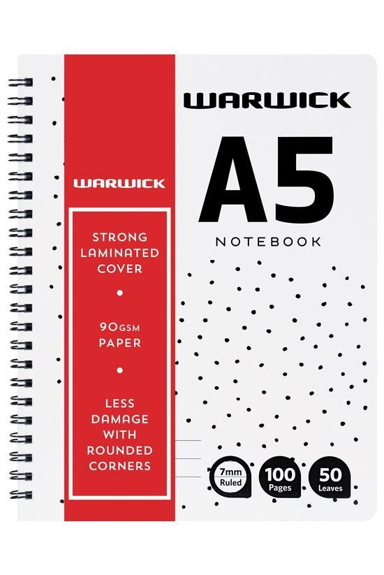 Warwick Premium Wiro Notebook ...