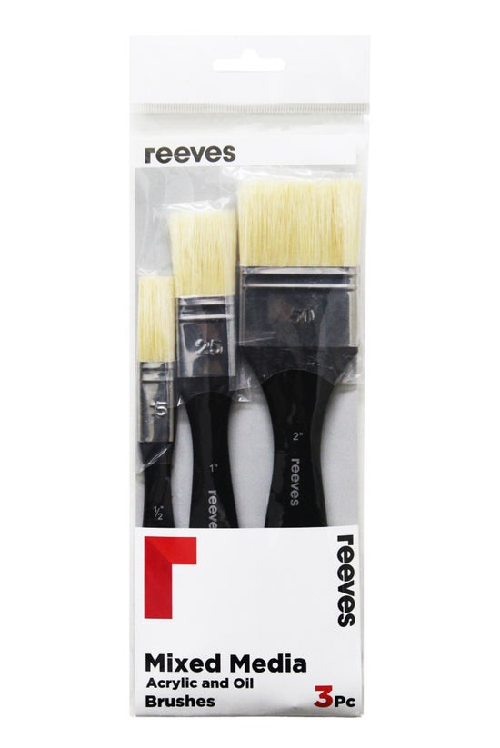 Reeves Brushes Mixed Media Spa...