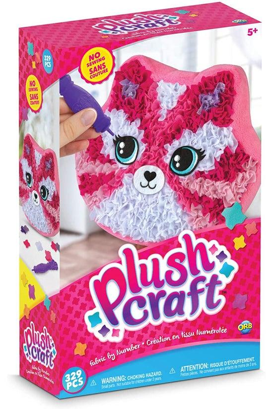 Plushcraft Kitten Pillow