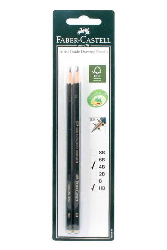 Faber 9000 Pencils Hb & 4b...