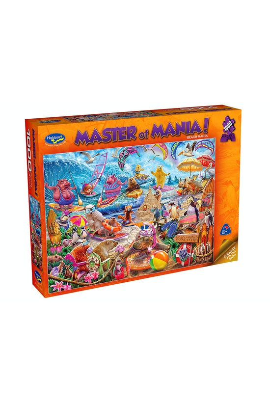 Master Of Mania! 1000 Piece Ji...