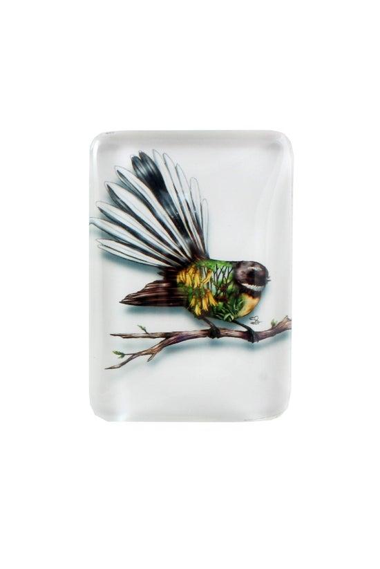Nz Souvenirs Glass Magnet Soph...