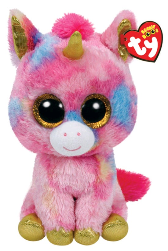 Ty Beanie Boos Fantasia Pink U...