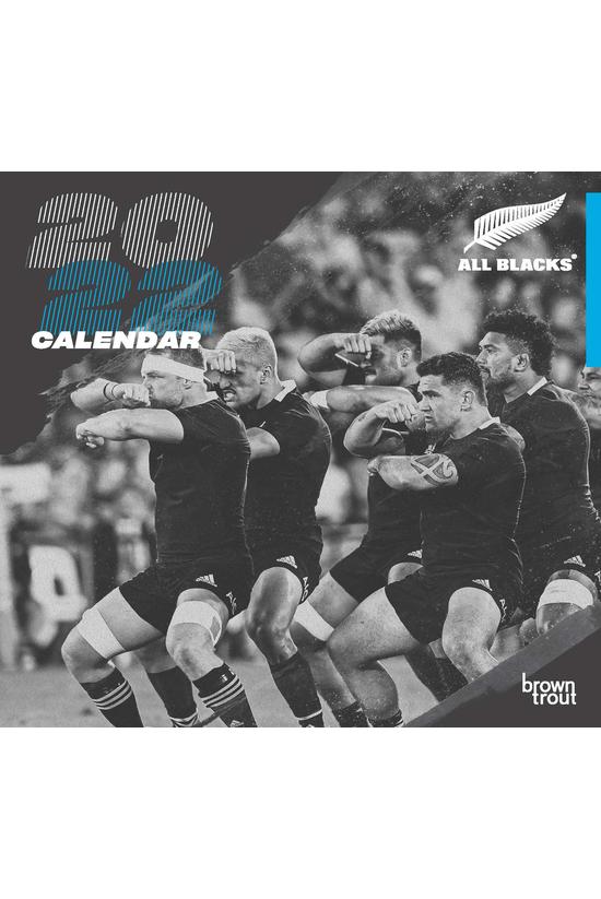 2022 Wall Calendar All Blacks