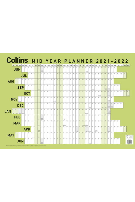 Collins Mid Year 2021-22 Wallp...