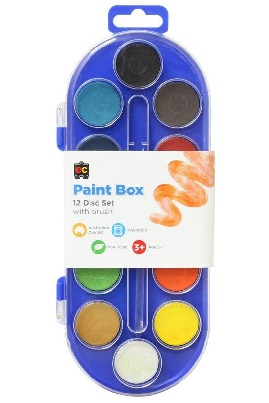 Educational Colours Paint Box ...