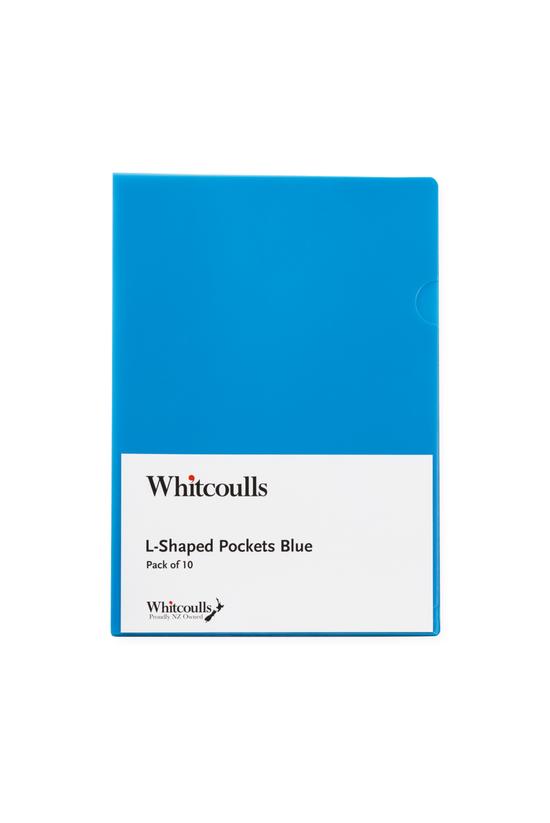 Whitcoulls L-shaped Pockets Pa...
