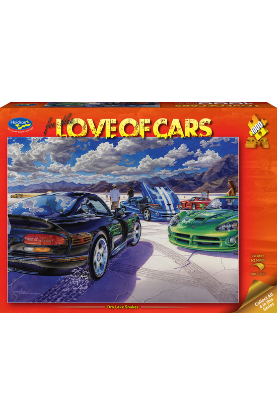 For The Love Of Cars 1000 Piec...
