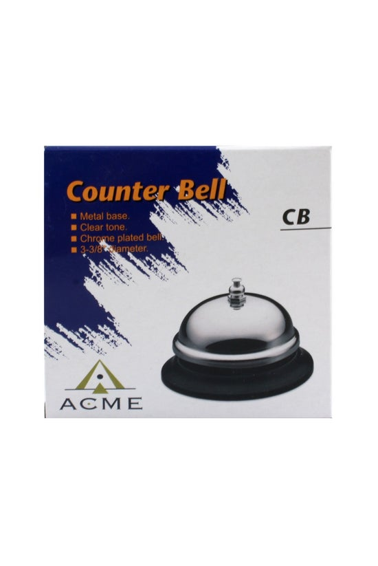 Acme Counter Bell Black And Ch...