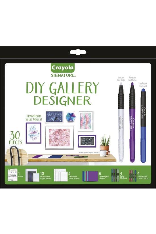 Crayola Signature Diy Gallery ...