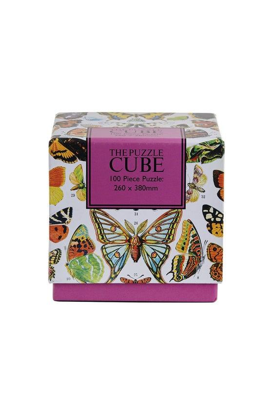 Puzzle Cube Butterflies Jigsaw...