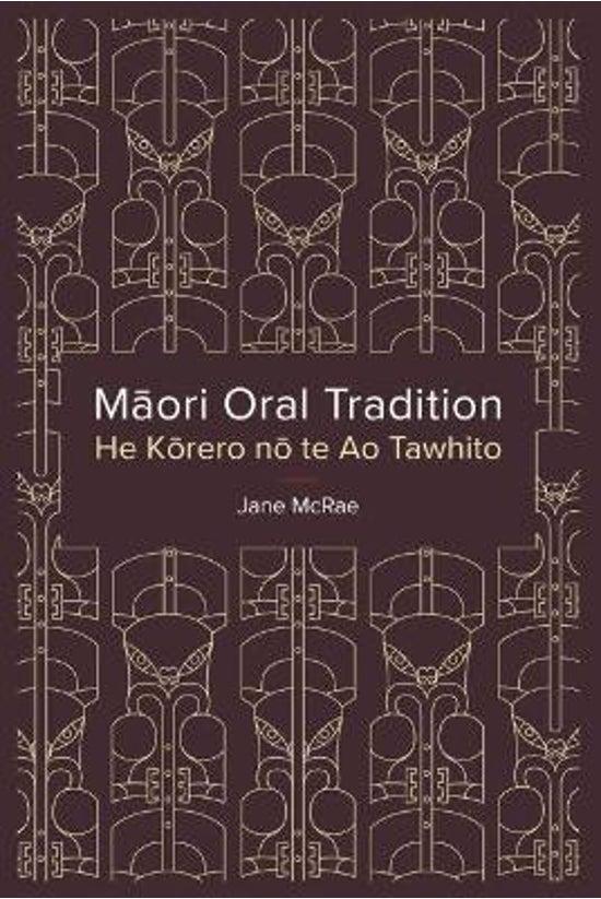 Maori Oral Tradition