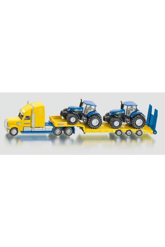 Siku Truck With New Holland Tr...