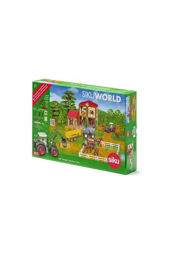 Siku World Horse Stable With T...