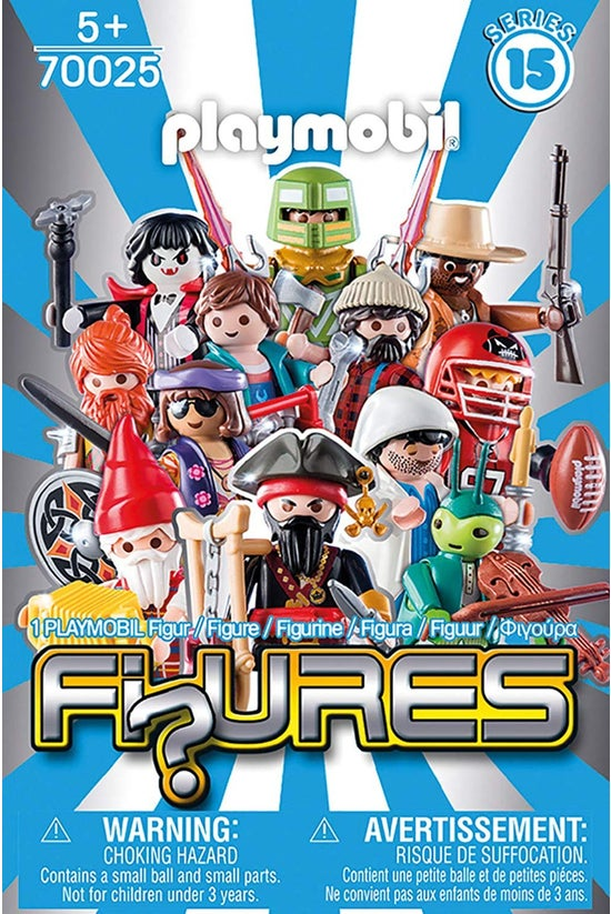 Playmobil Series 15 Boys Blind...