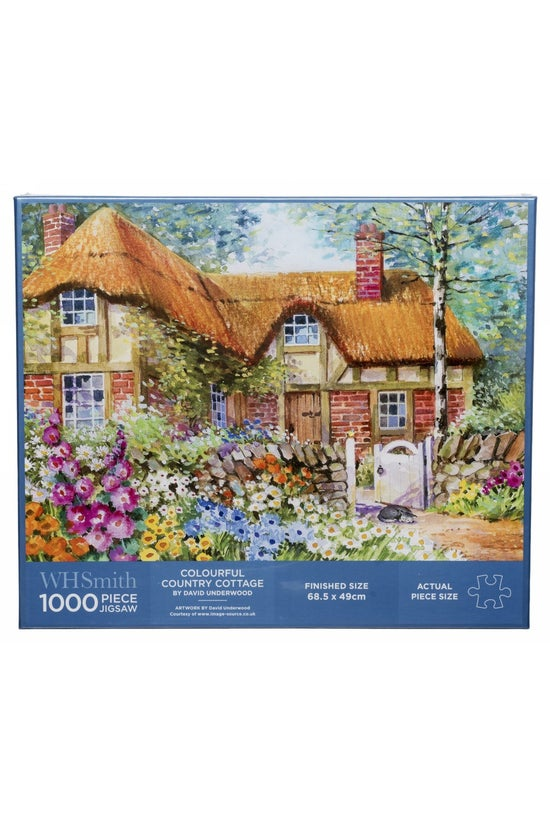 Whsmith 1000 Piece Jigsaw Colo...