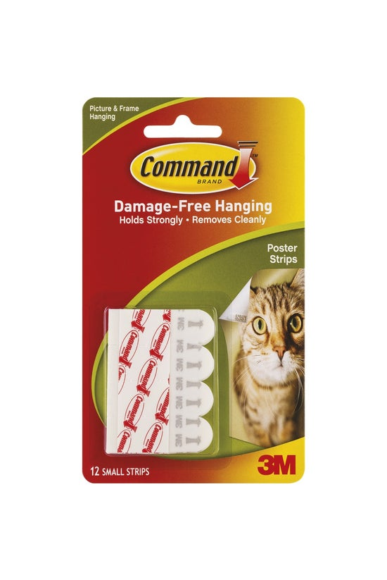 3m Command Adhesive Poster Str...