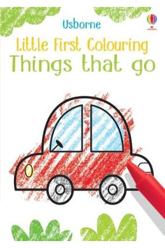 Little First Colouring: Things...