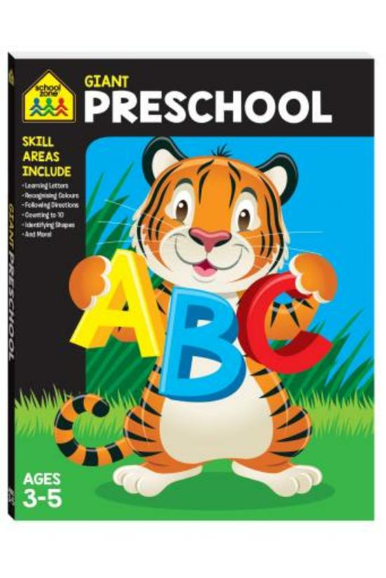 School Zone Giant Workbooks: P...