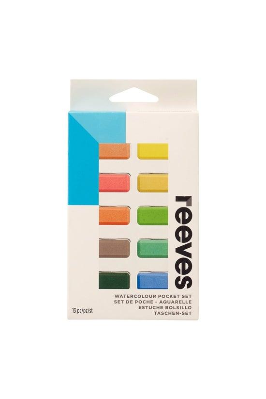 Reeves Watercolour Pocket Tabl...