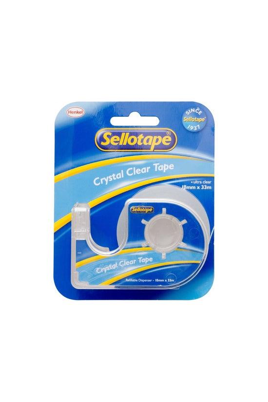 Sellotape Crystal Clear Tape O...