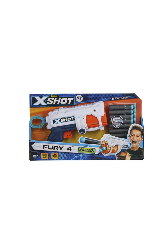 X-shot Excel Fury 4 Dart Gun