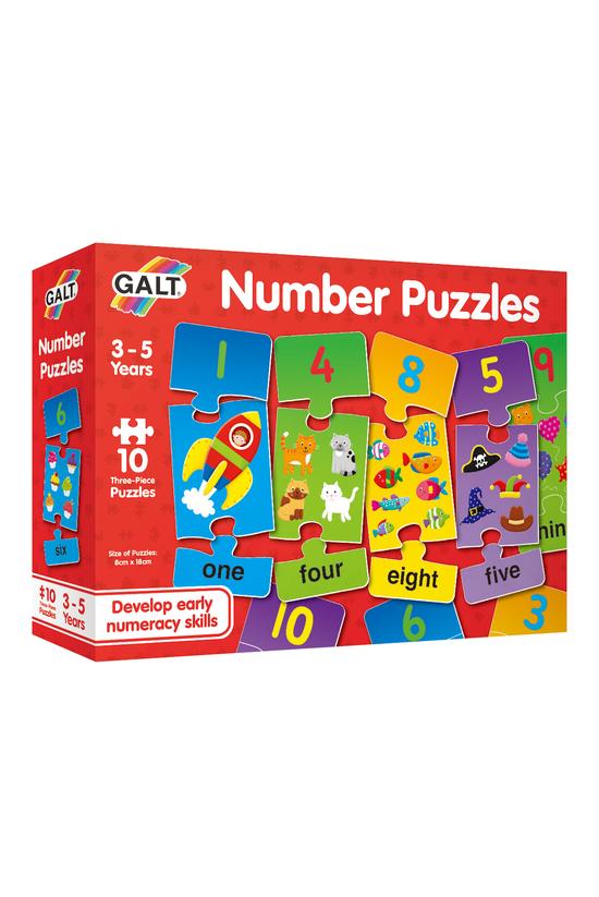 Galt 3 Pieces Number Puzzles
