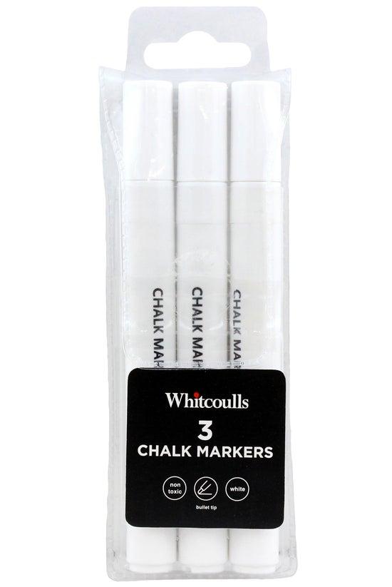 Whitcoulls Chalk Markers White...