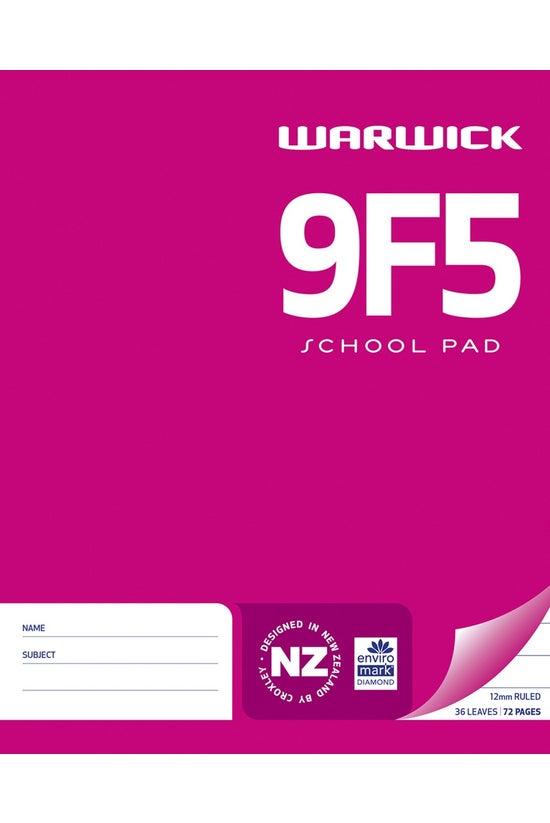 Warwick 9f5 School Pad 12mm