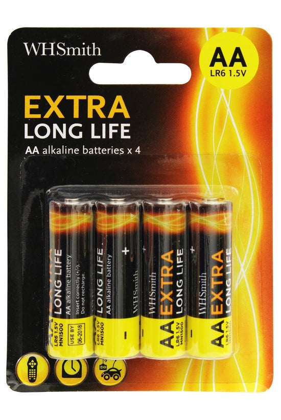 Wh Smith Alkaline Batteries Aa...