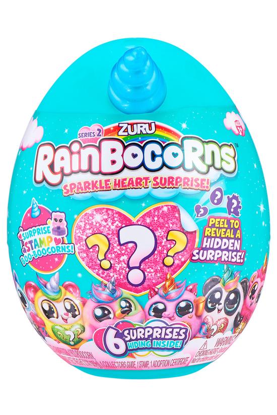 Rainbocorns Sparkle Heart Surp...