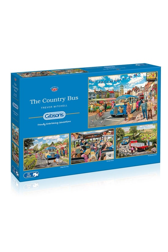 Gibsons Jigsaw The Country Bus...