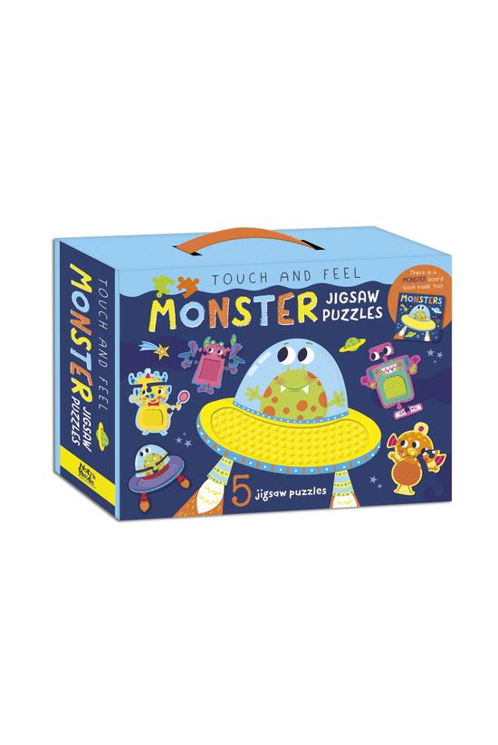 Touch & Feel Monster Jigsa...