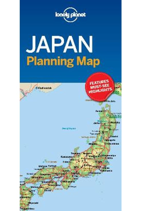 Lonely Planet Japan Planning M...