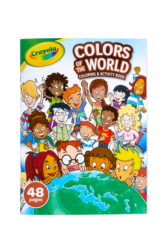 Crayola Colours Of The World C...