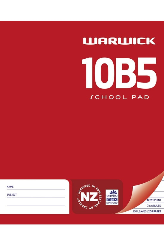 Warwick 10b5 Pad Newsprint 7mm