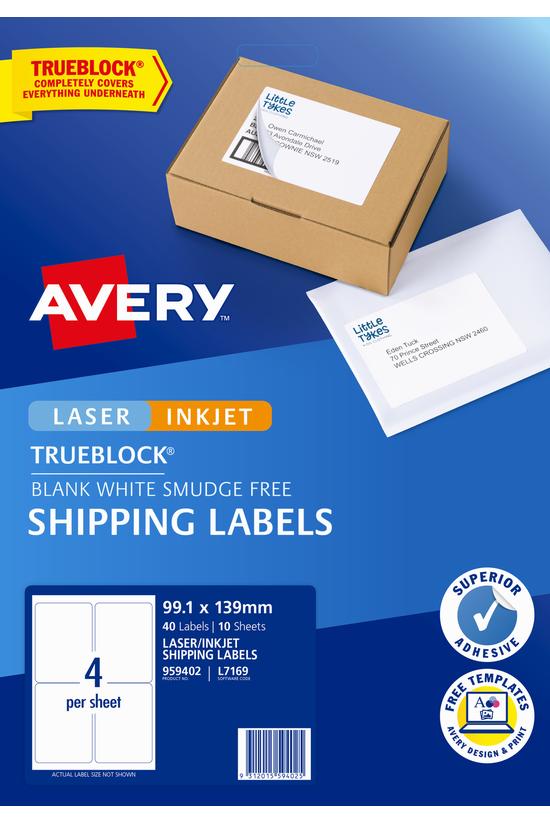 Avery White Internet Labels Sh...