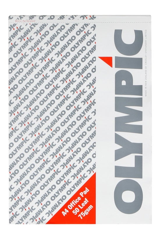 Olympic Office Pad 75gsm A4 50...