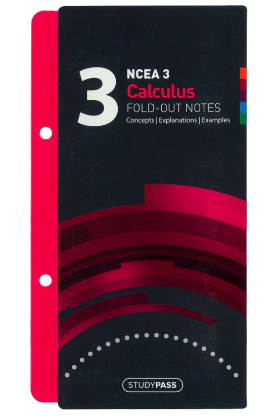 Ncea Level 3 Calculus Fold-out...