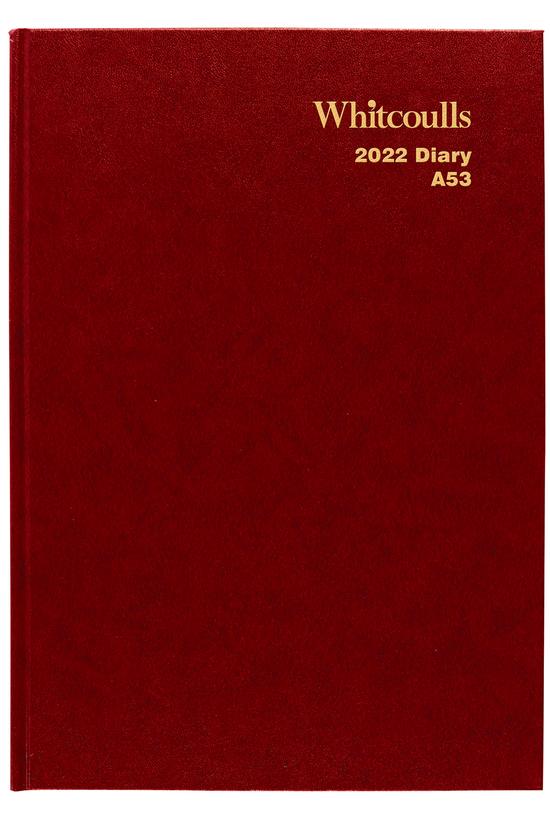 2022 Diary Whitcoulls A5 Week ...