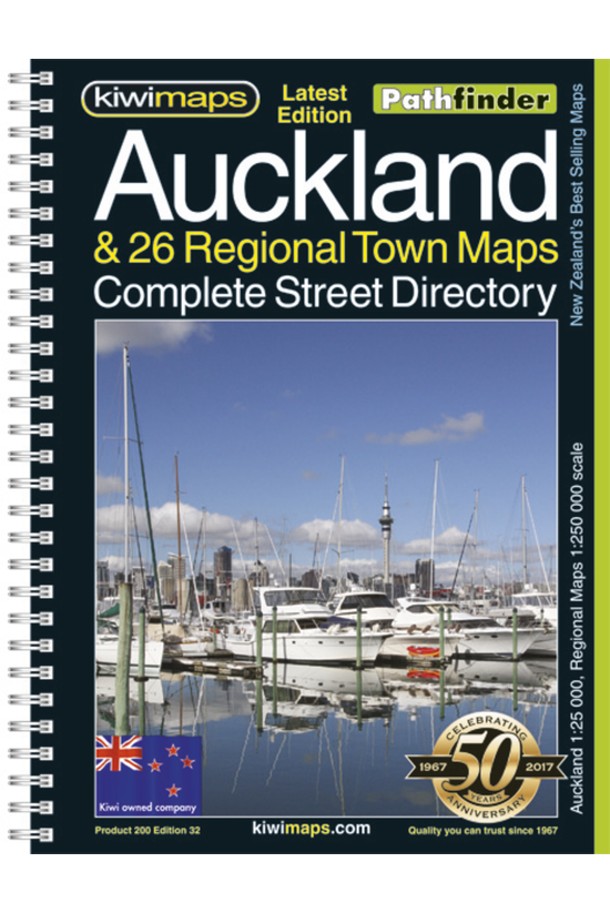 Auckland & 26 Towns A4 Boo...