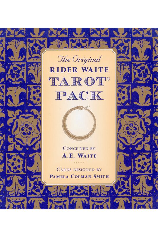 The Original Rider Waite Tarot...